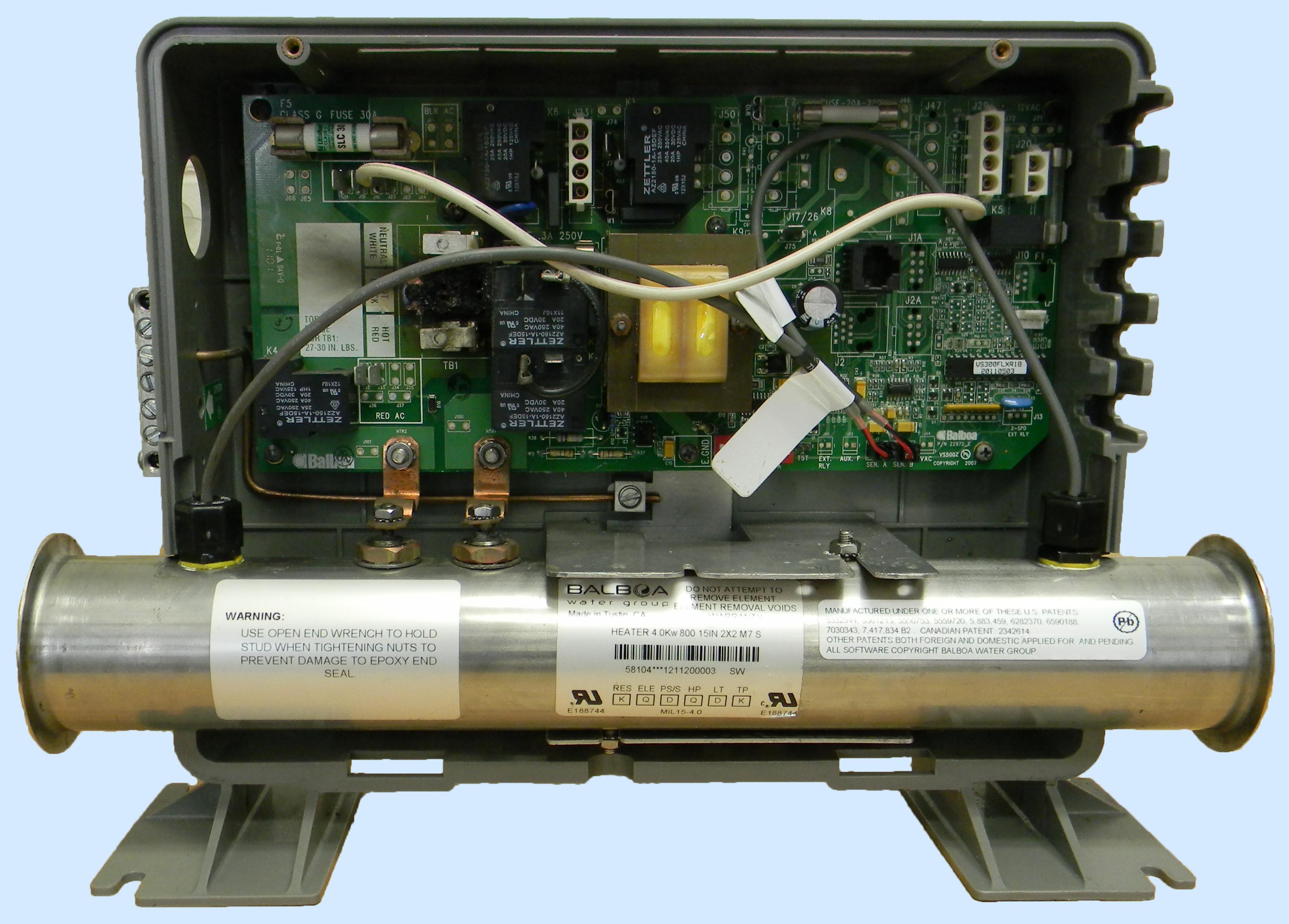balboa spa heater replacement    balboa